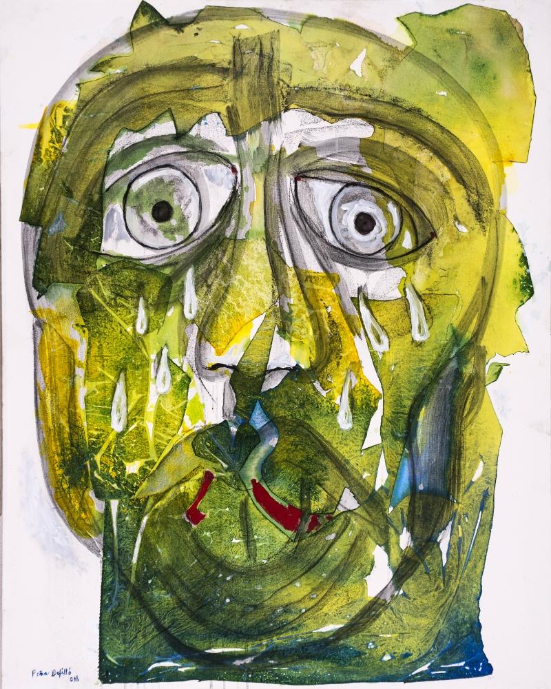 El llanto del coloso (2016) I Mixto sobre tela