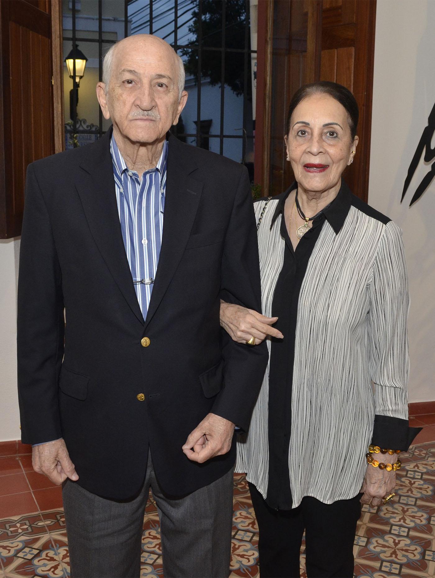 Azor Hazoury y Nidia de Hazoury