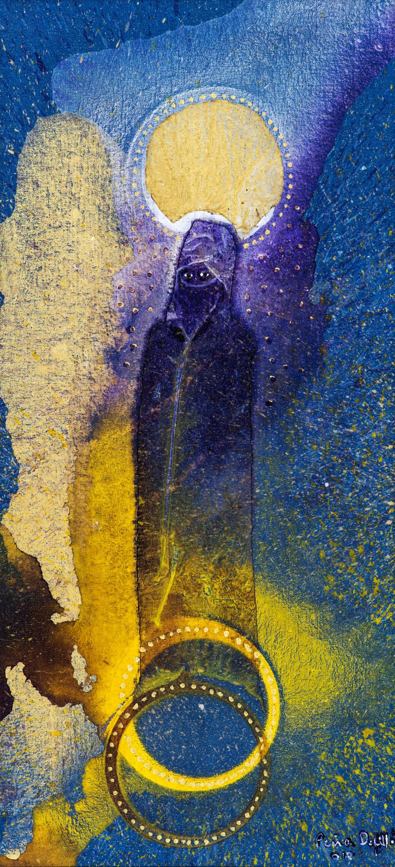Virgen musulmana (2010). Fernando Peña Defilló