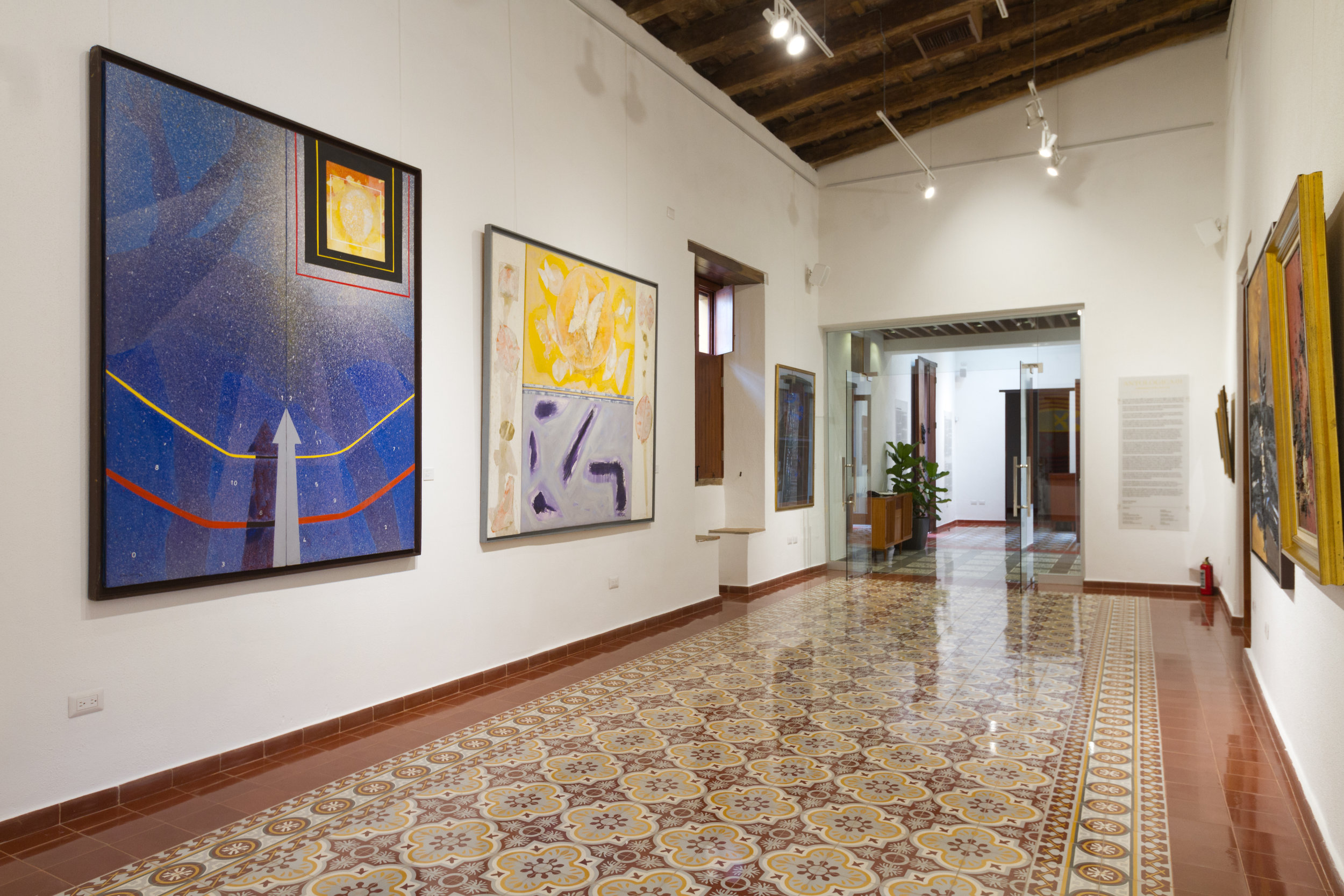 Sala 1, para exposición permanente