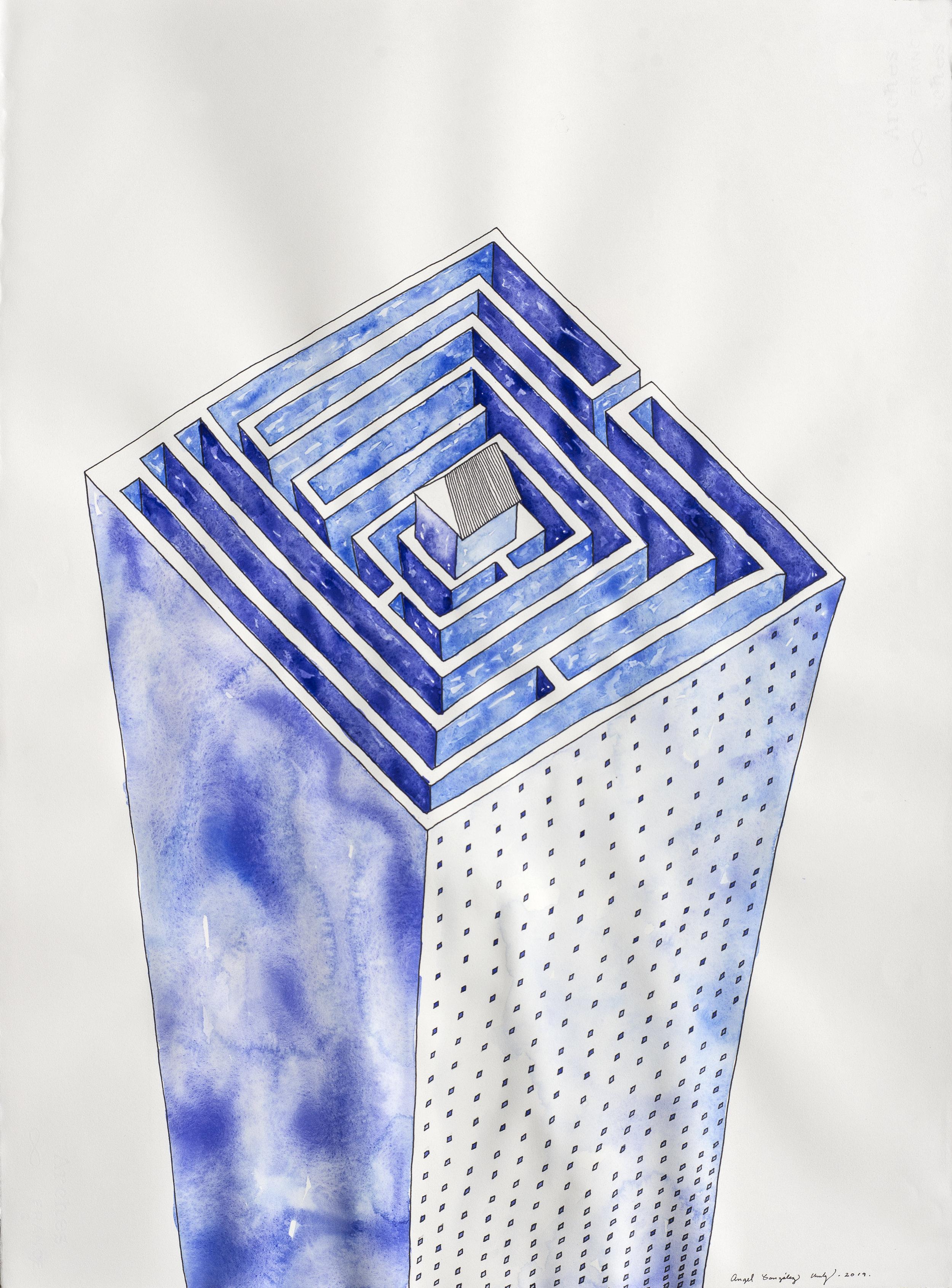 "S:T. Tinta, acuarela sobre papel Arches. 30""x22.5"". 2019.jpg"