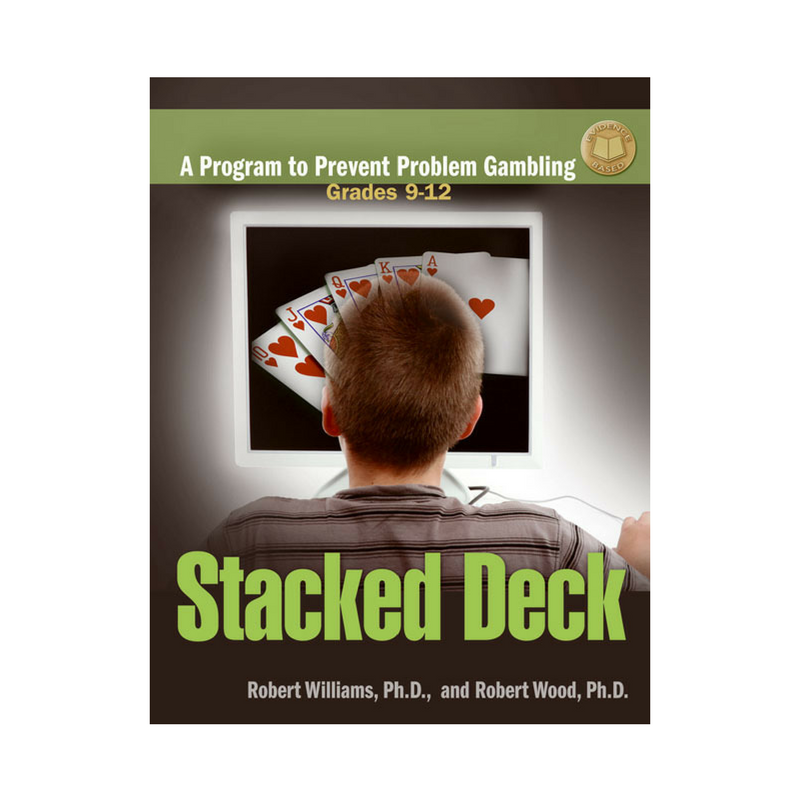 Stacked Deck    Lifetime problem gambling rates are highest in college, followed by adolescents. This evidence-based gambling prevention curriculum has shown significant and sustained changes among young people in their attitude toward gambling. In six sessions covered over a two to three week time period, Stacked Deck uses math, decision-making, and problem-solving skills to prevent the onset of gambling issues in youth.