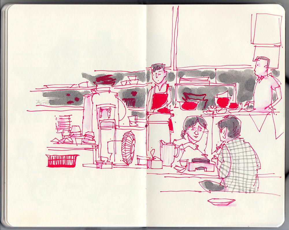 South Korean restaurant