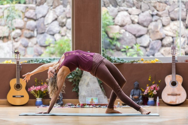 WHY YOGA?   Yoga is said to be for the purpose of uniting the mind, body, and spirit. This union is a form of balance and it's what we are seeking to fulfill on the spiritual path. So many of us feel cut off and disconnected from our bodies so a yoga practice can help us to feel connected and embodied once again. Yoga is an excellent accompaniment to a plant medicine diet to help connect the mind to the body and will be offered by certified yoga instructors.