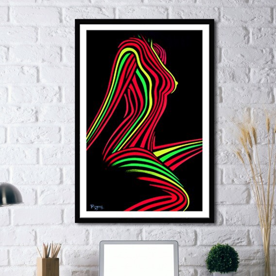 """NEON FEEL"" LIMITED EDITION PRINTS - FROM $125.00 USD"
