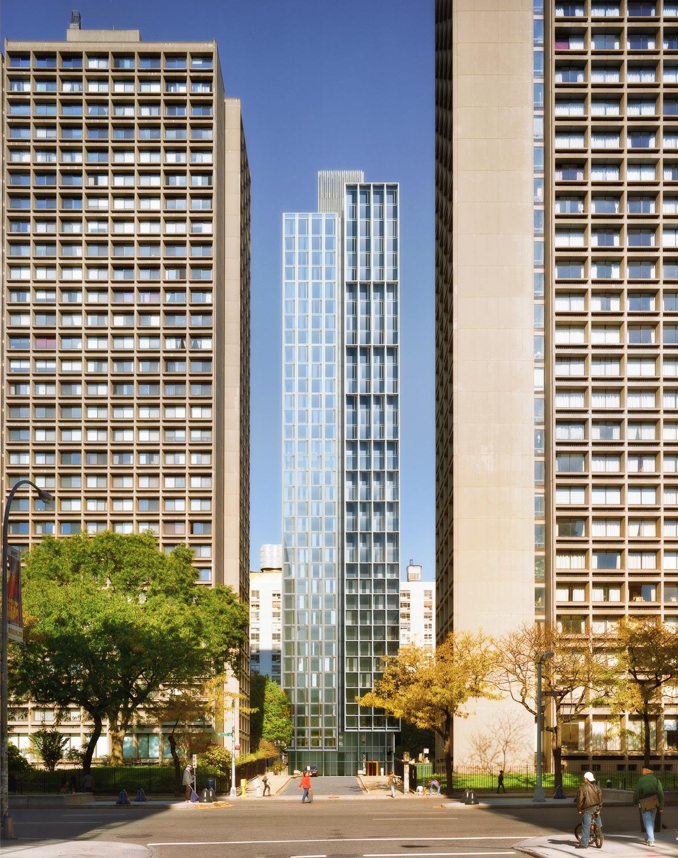 NYU 4th Tower / NYU Masterplan, NY, USA. Grimshaw Architects.