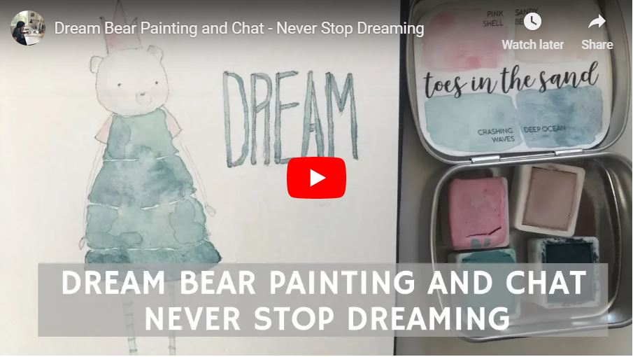 dreambearpaintingneverstopdreaming.JPG