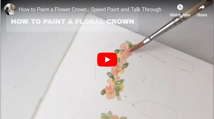 howtopaintafloralcrownwatercolorvideo.JPG