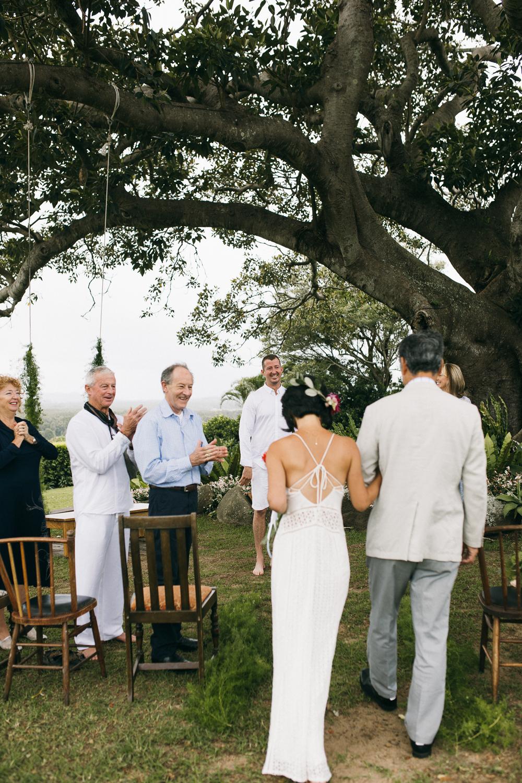 Figtree Restaurant Wedding Byron Bay