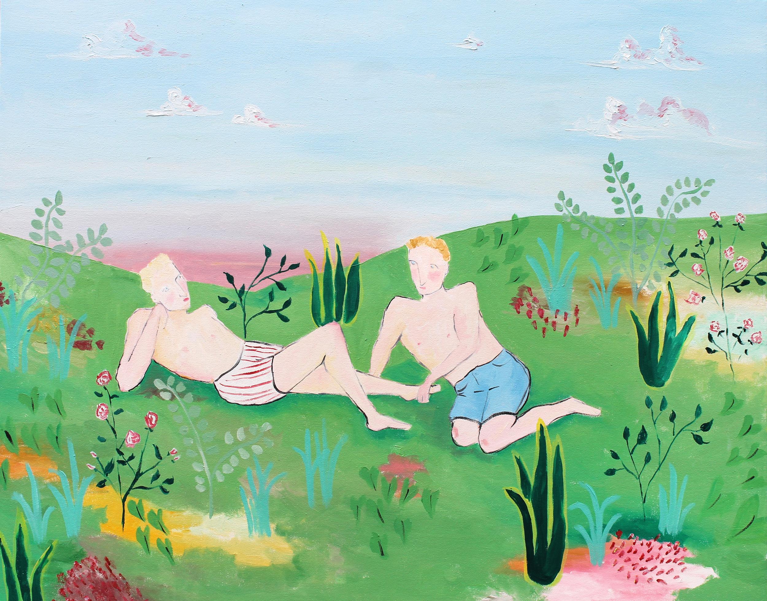 C.Milbrath_Garden Scene_Huile_2016.jpg