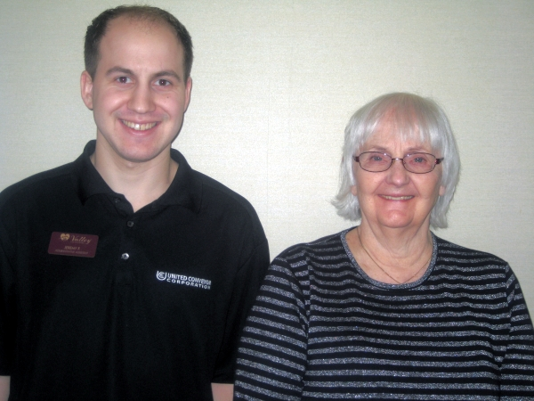 Jeremy and Shari, Valley Care and Rehab's March Stars of the Month