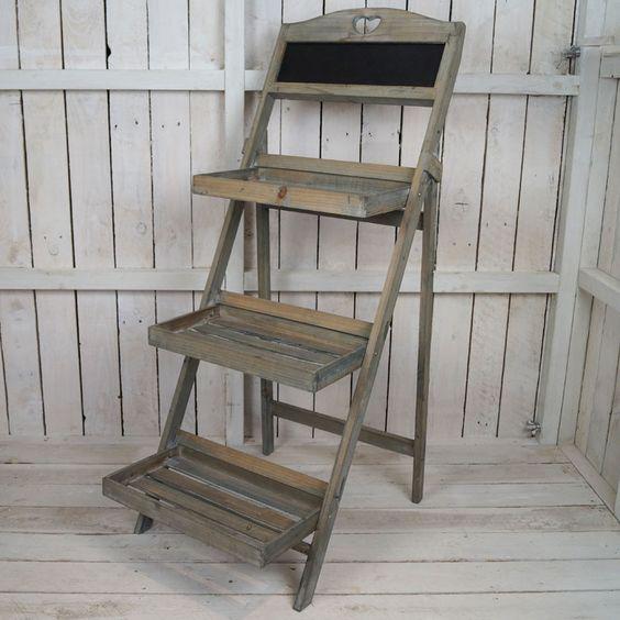 3 Shelf Blackboard Stand £15