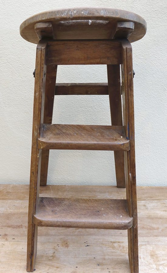 Small Round Step Ladder £7.50