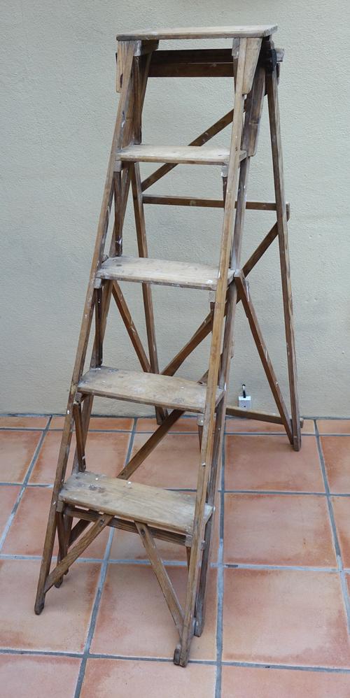 Hatherley Step Ladder with Detail £20