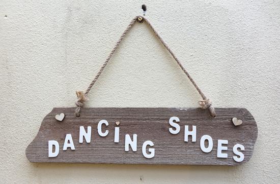 Dancing Shoes (X1) 72cm x 46cm £2