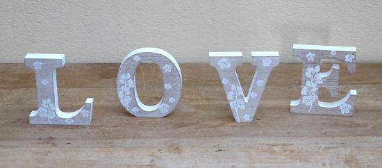 Flower LOVE Sign £2
