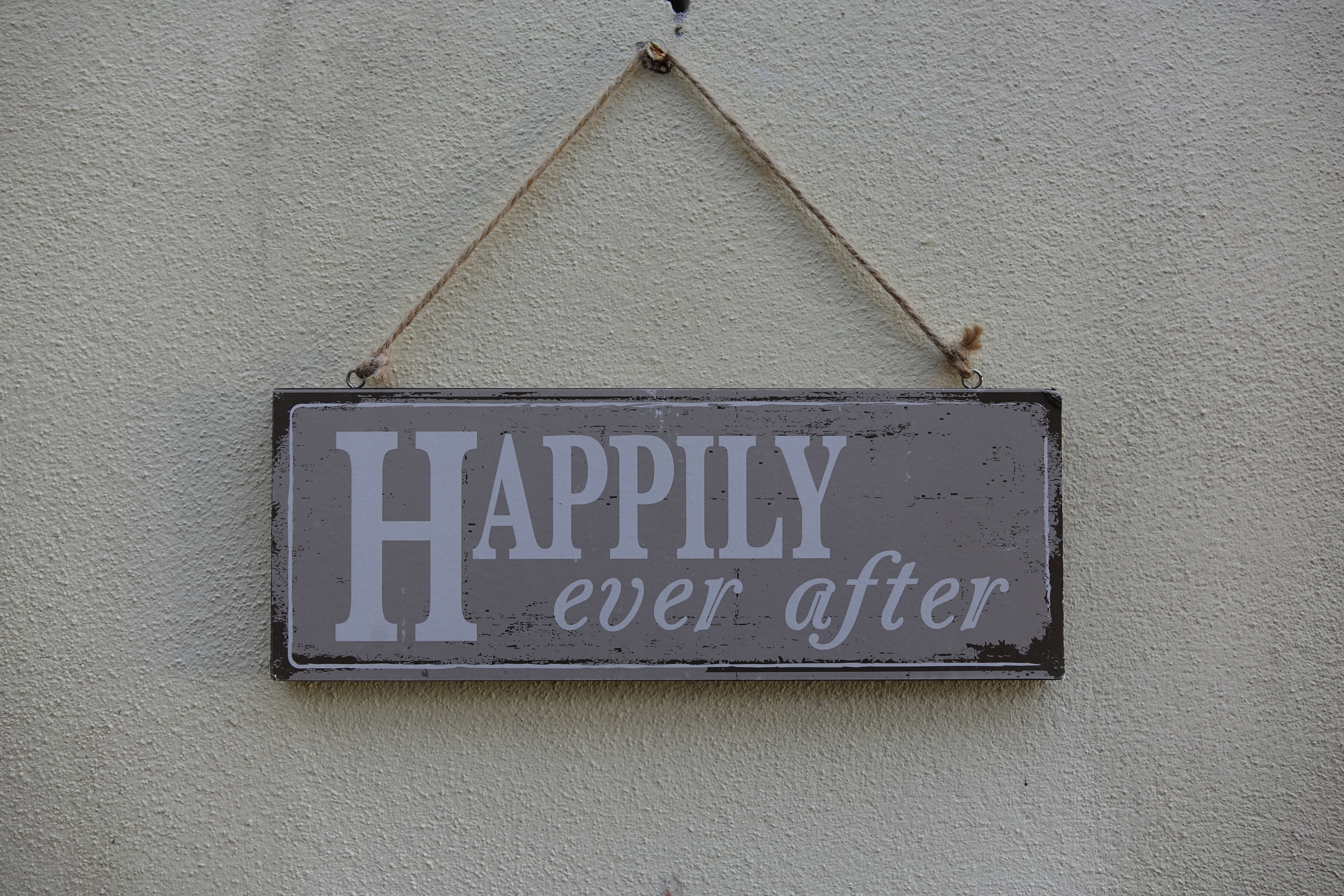 Happily Ever After Sign £1