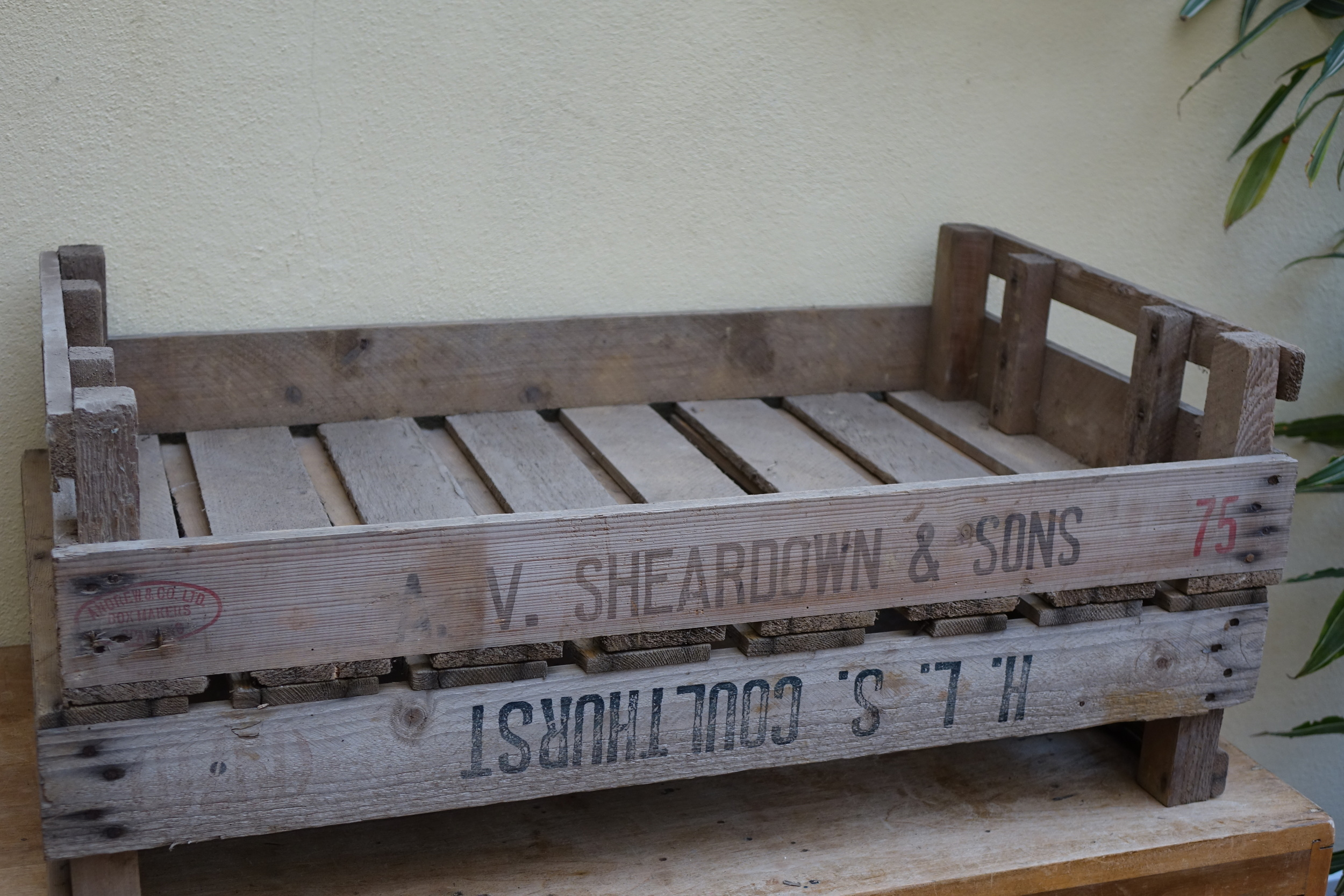Vegetable crate - £3