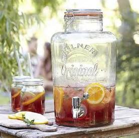 8 litre & 5 litre Kilner jars - £10 and £8