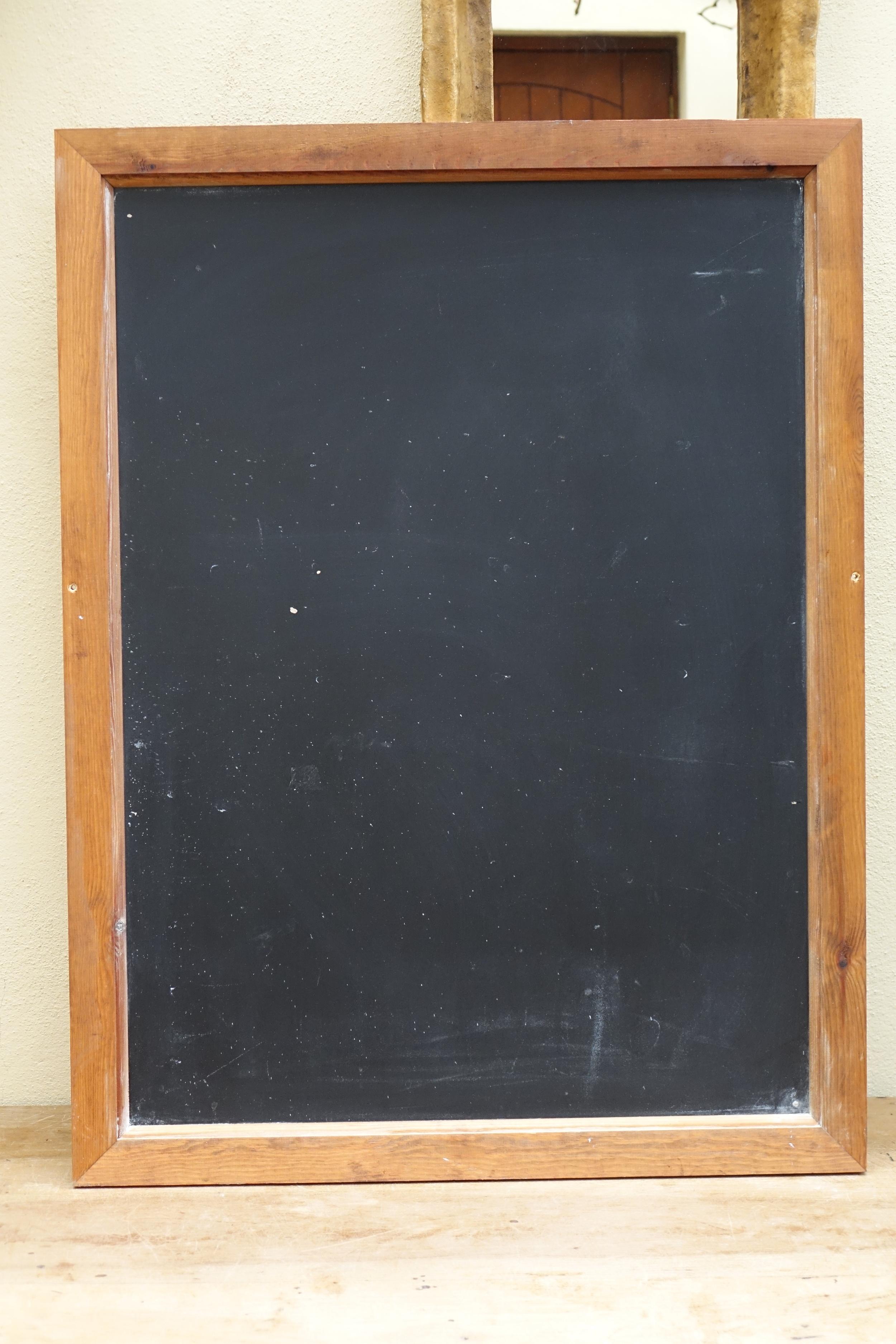 Large blackboard - £8