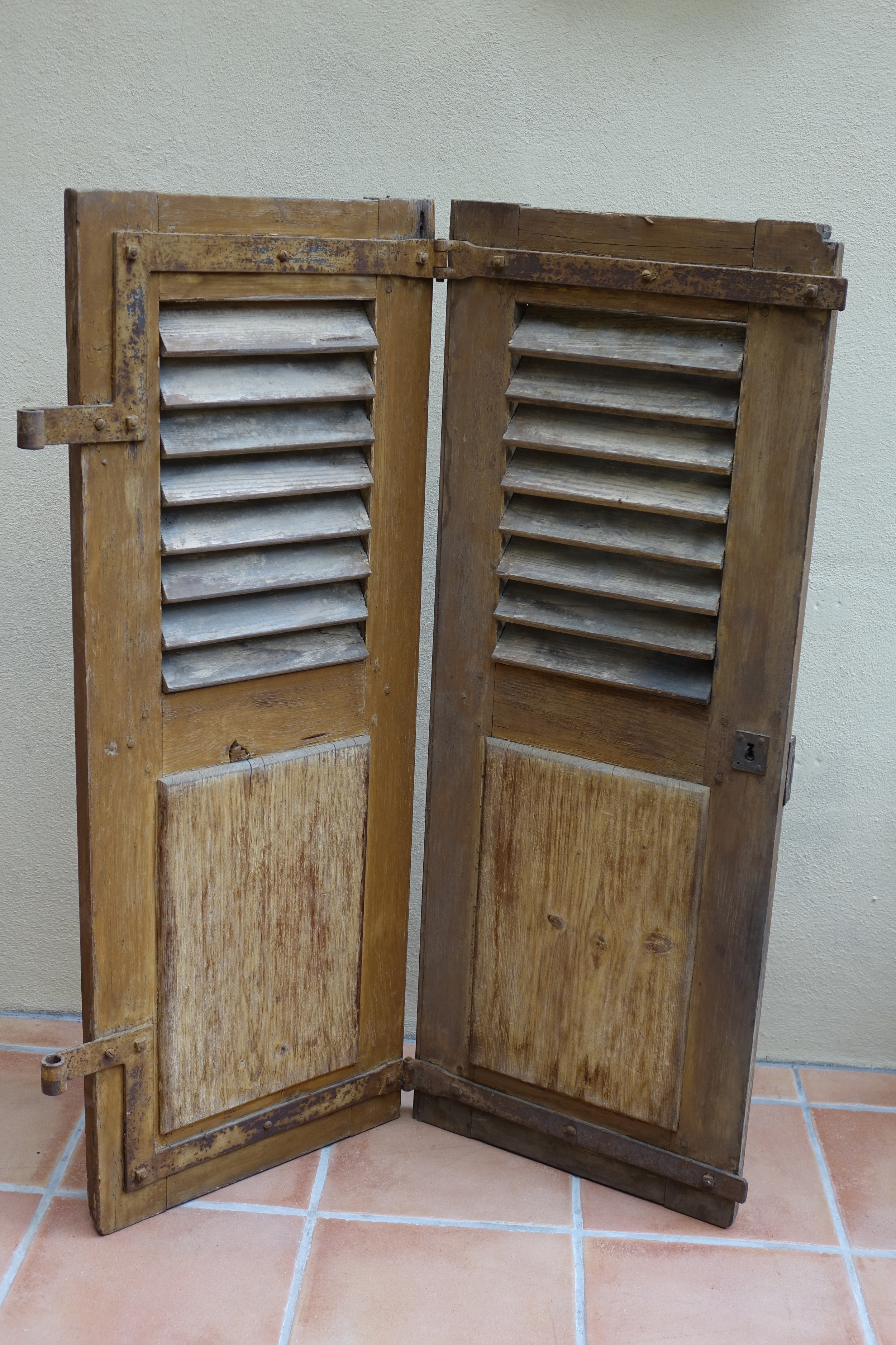 Pair of Vintage French Shutters £25