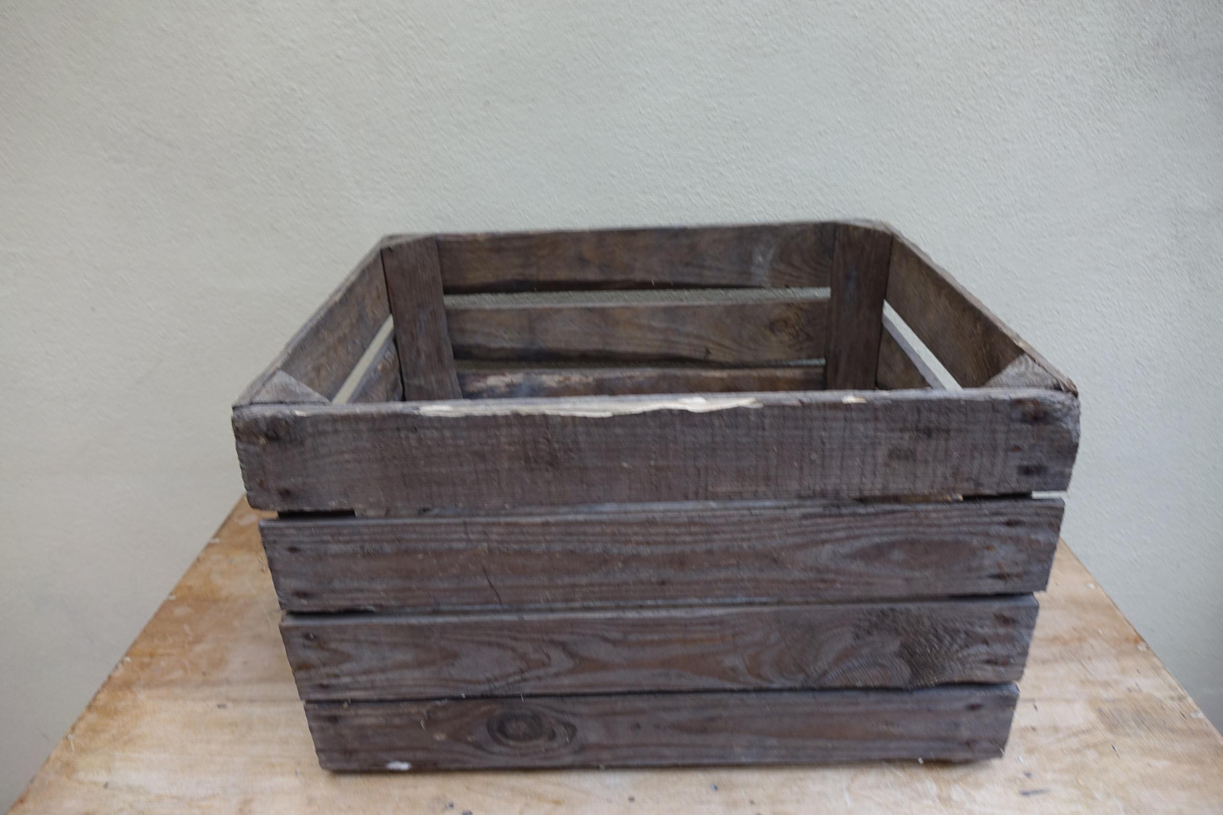 Wooden Apple Crate £4