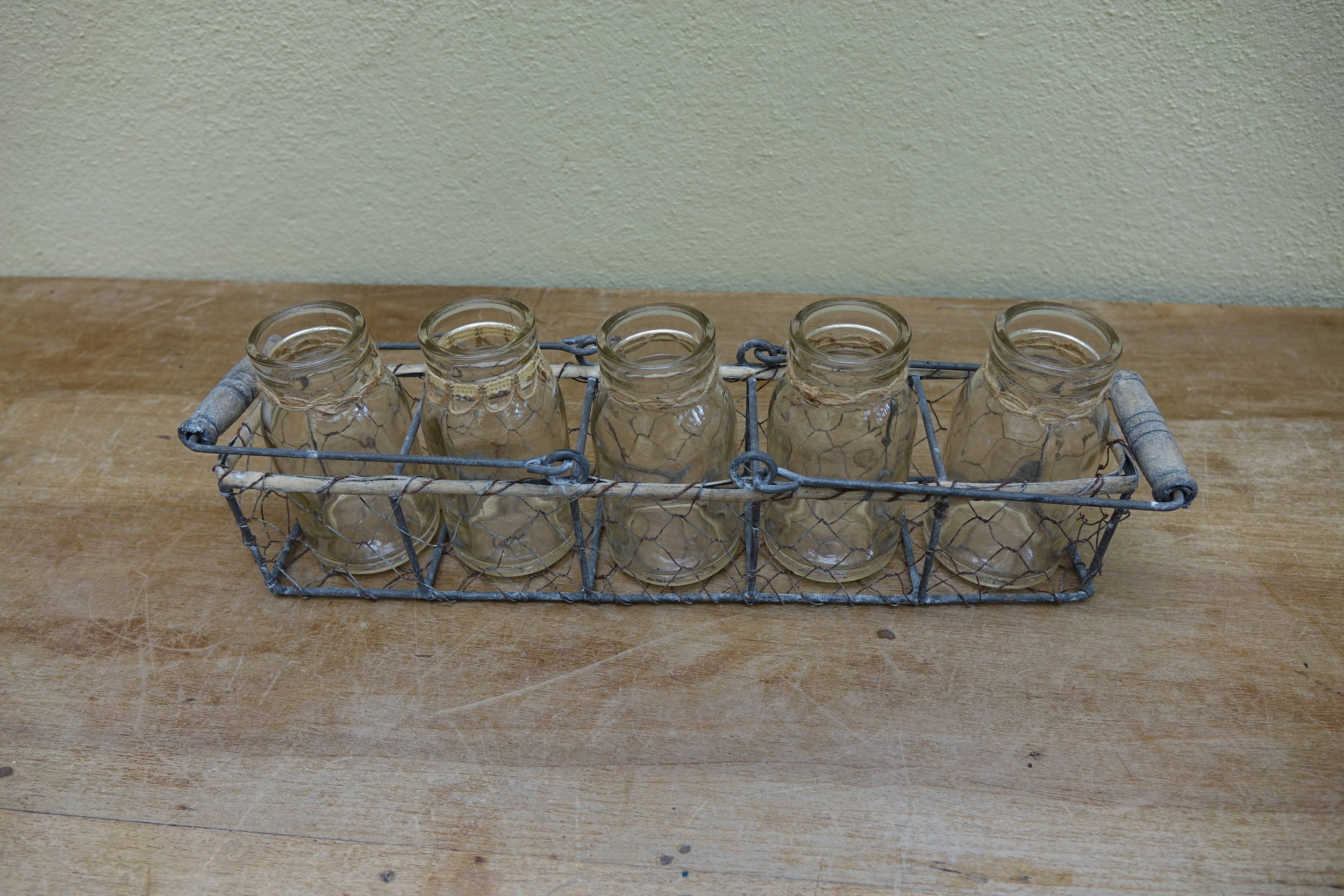 Milk Bottle in Tray £4