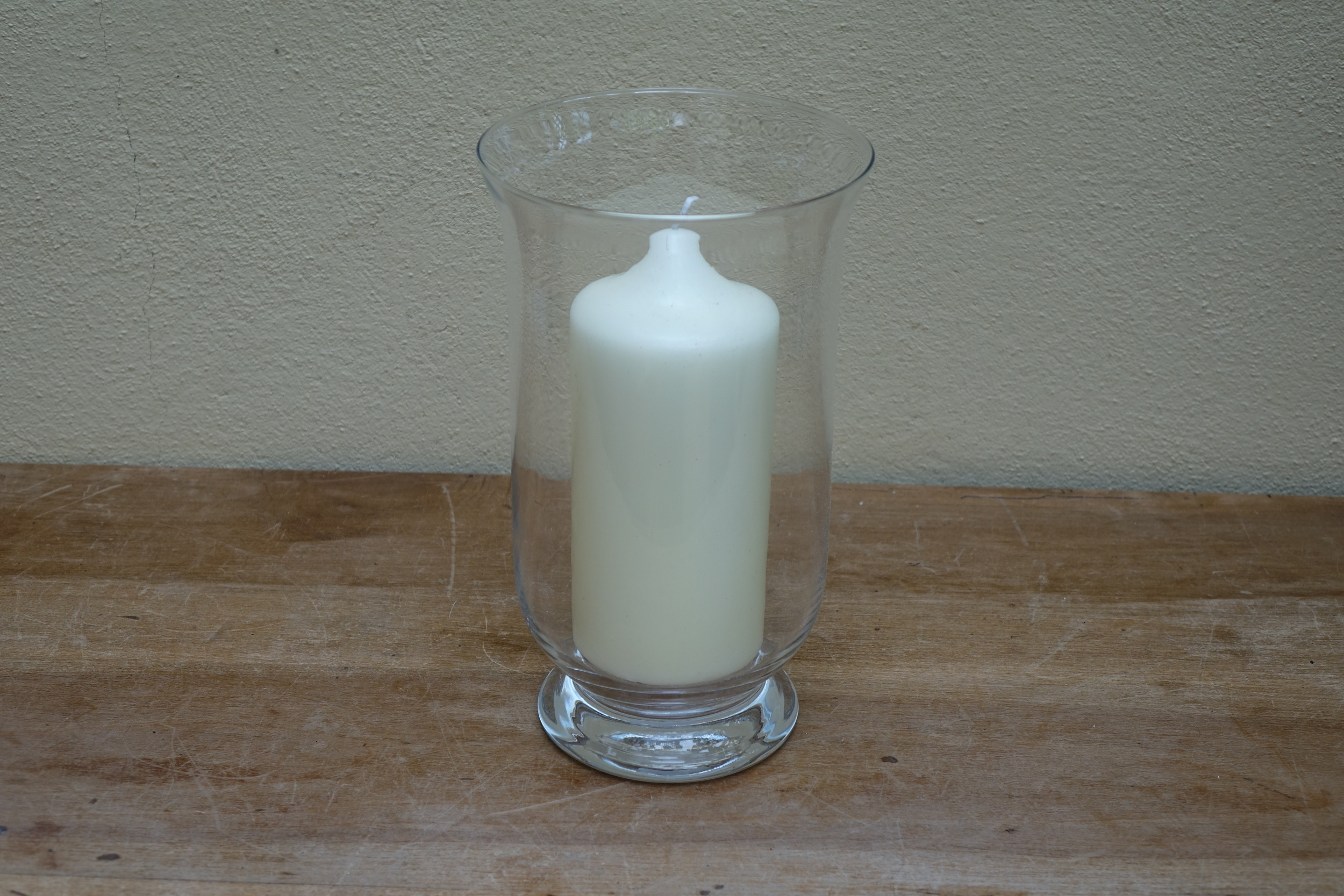 Glass Hurricane Lamp - 16 Medium £3, 8 large £5 Available