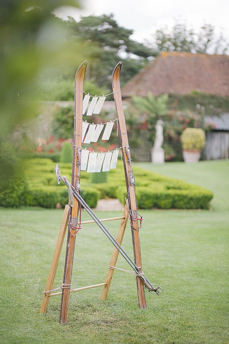 Copy of Vintage Skis & Poles - £30 - picture for illustration