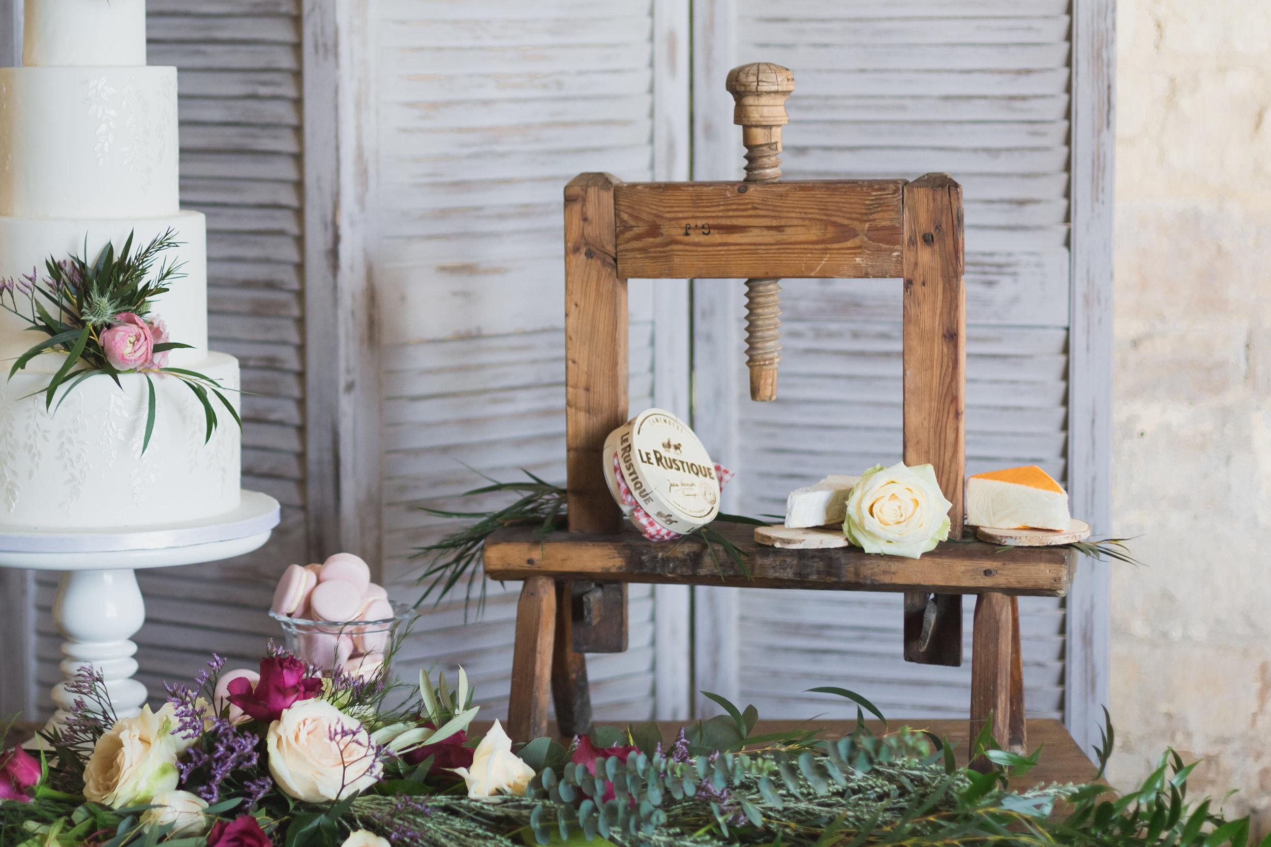 Vintage Cheese Press