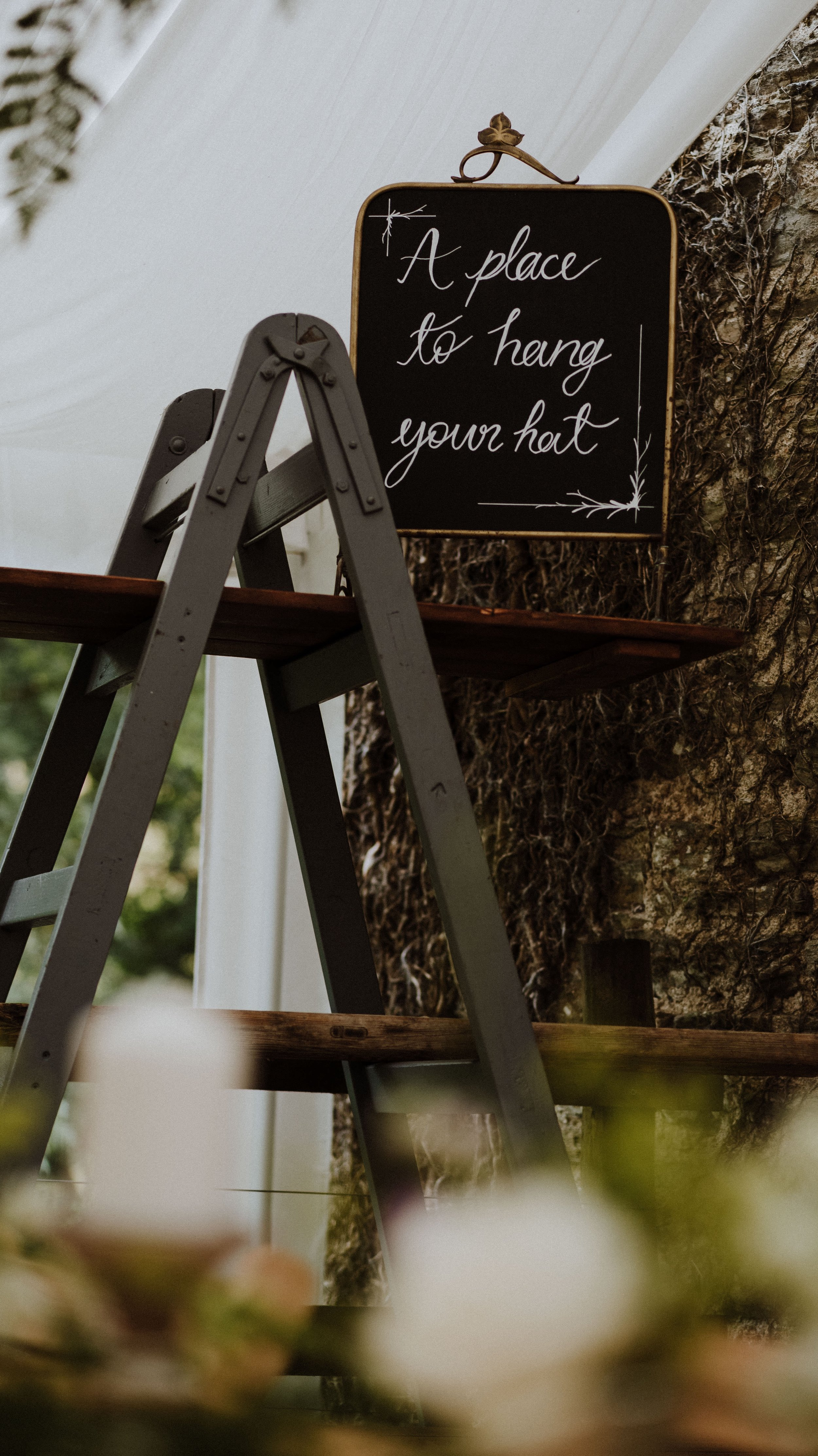 Large A Frame as Hat Stand - £60