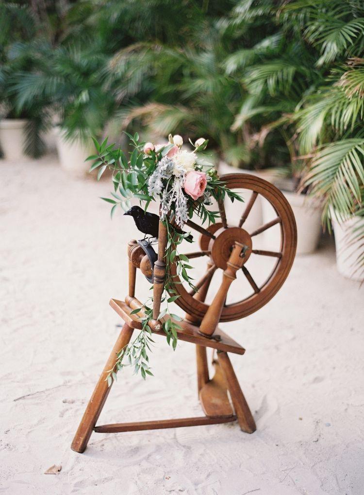 Sleeping Beauty Spinning Wheel