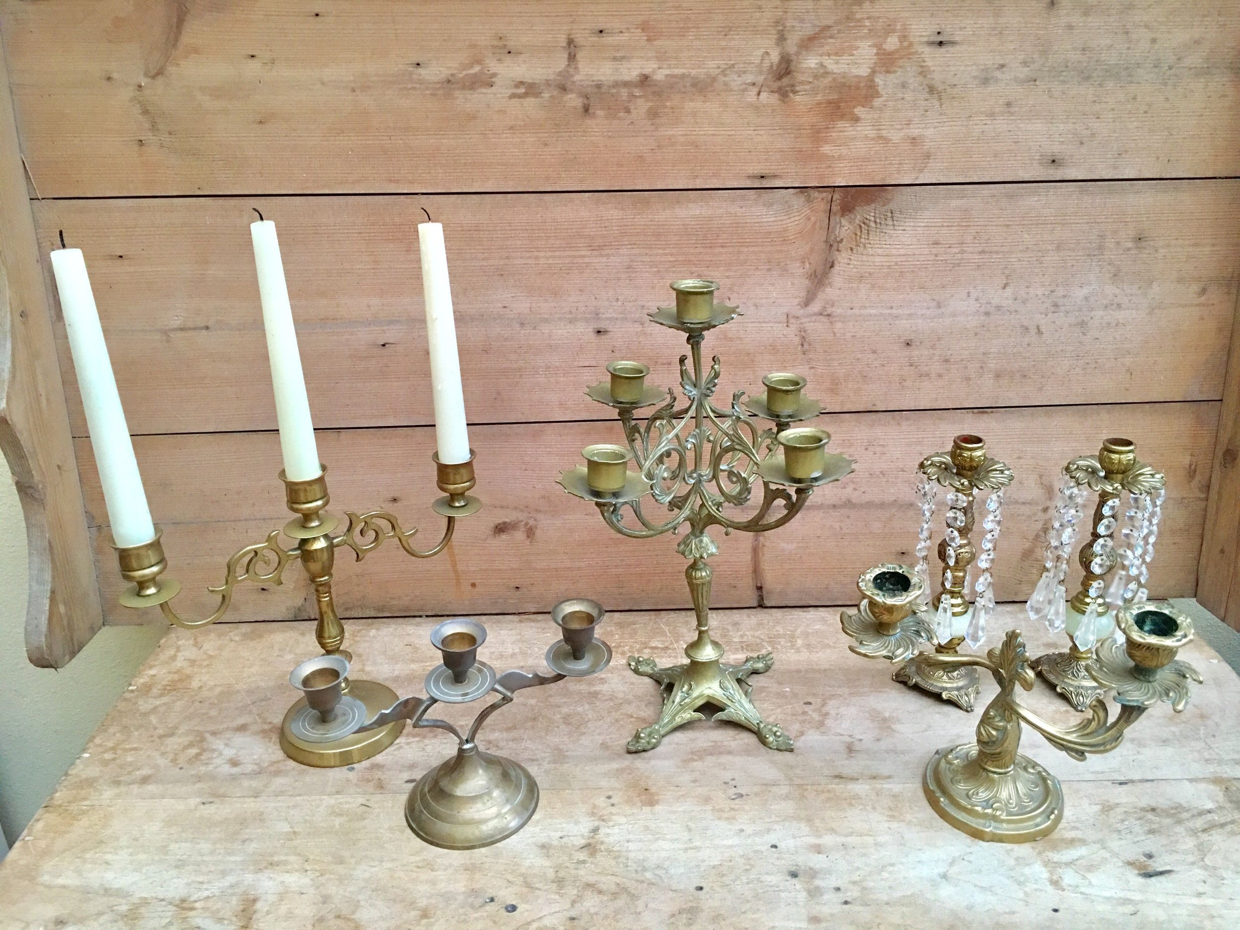 French Candelabra from £8