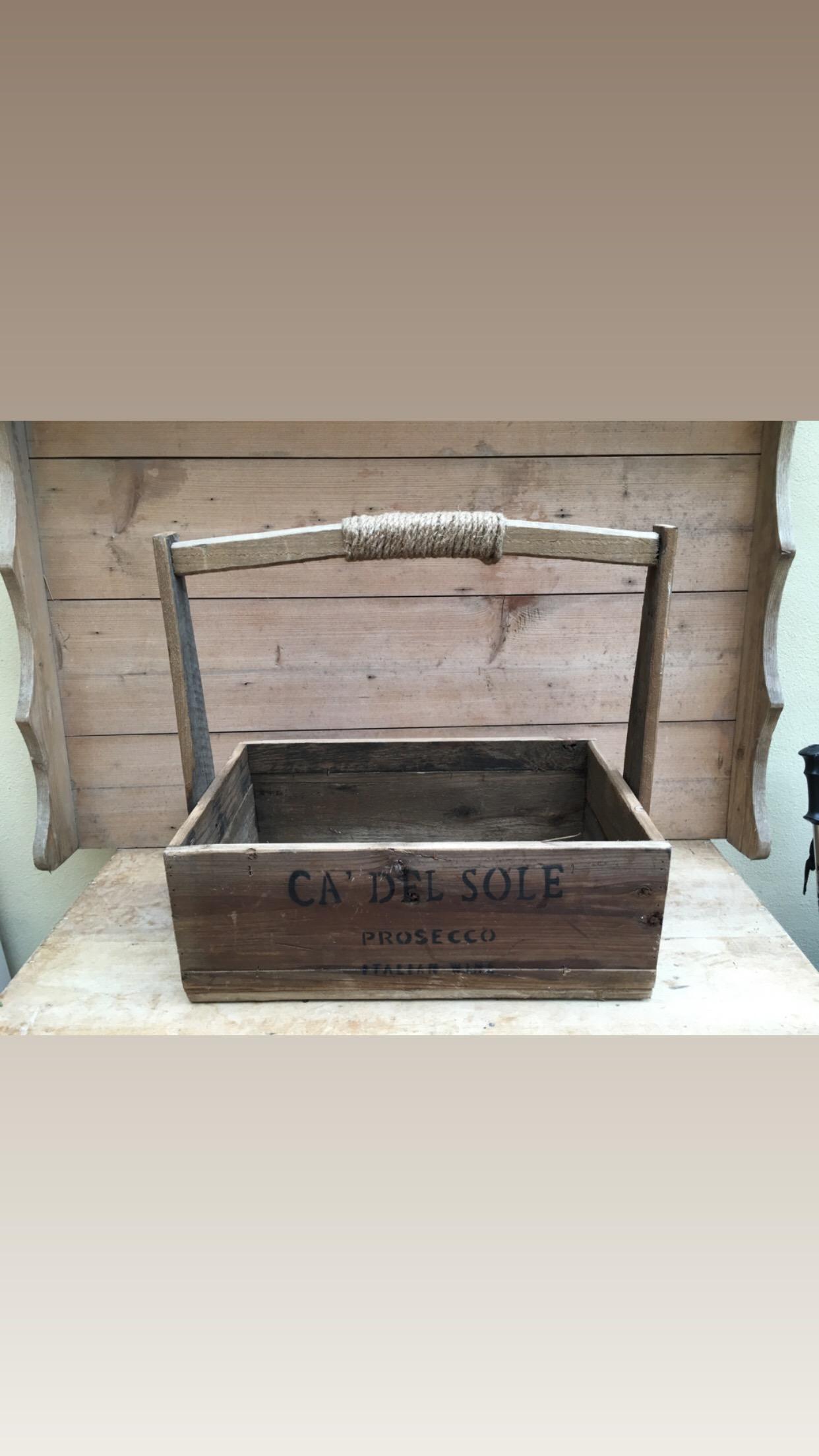 Prosecco box - £10