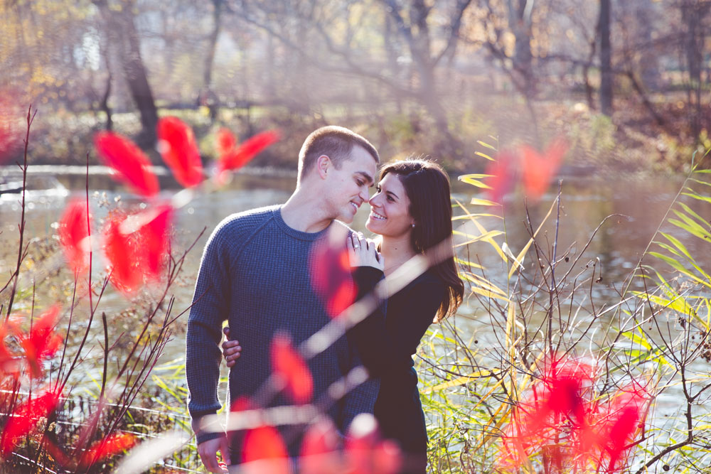 Engagement shoot in Central Park