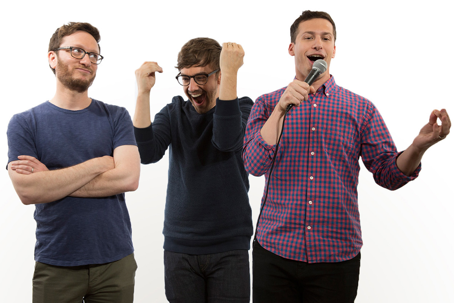 Lonely Island Junket with Andy Samberg