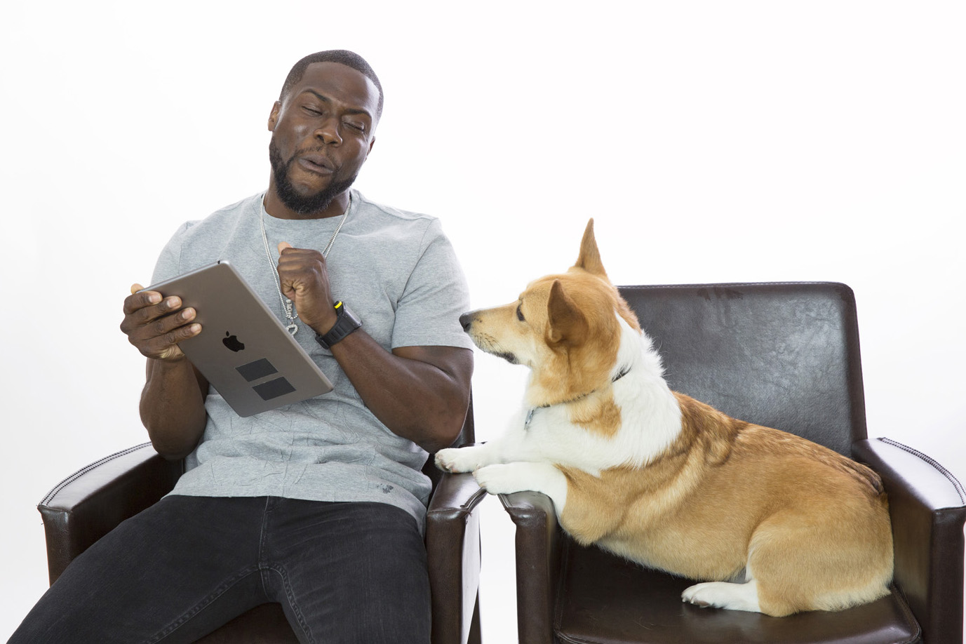 Kevin Hart for Glamour Video - The Secret Life of Pets Junket NYC
