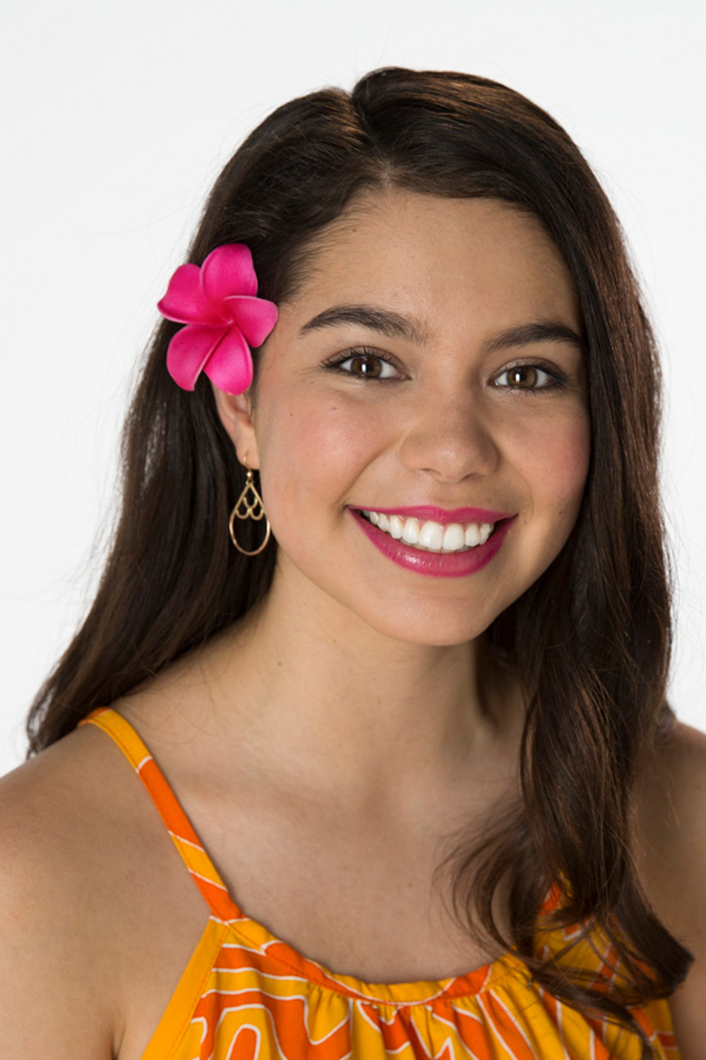 Portrait of Auli'i Cravalho for Teen Vogue Video and Glamour Video