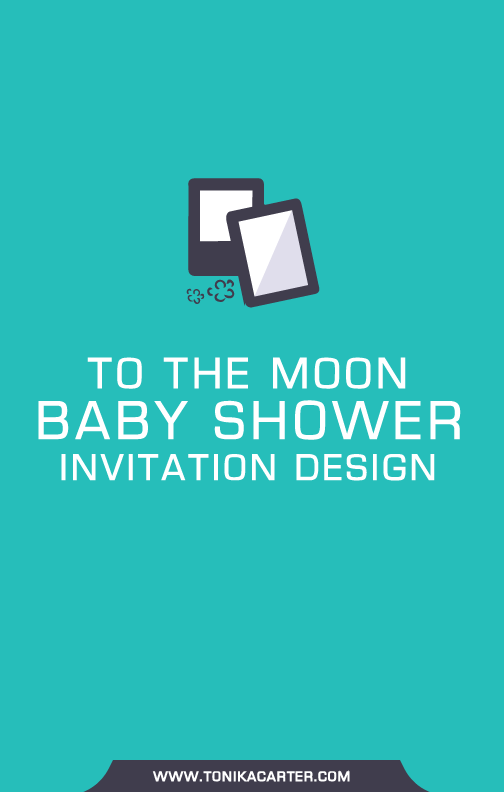 To the Moon Baby Shower