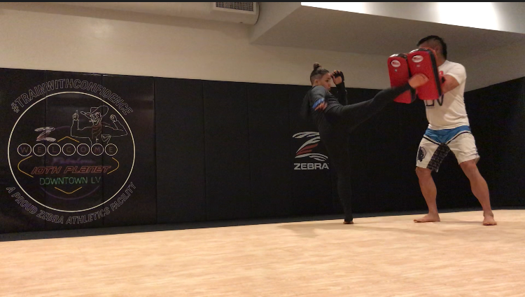 Kickboxing Las Vegas classes to get you in great shape!