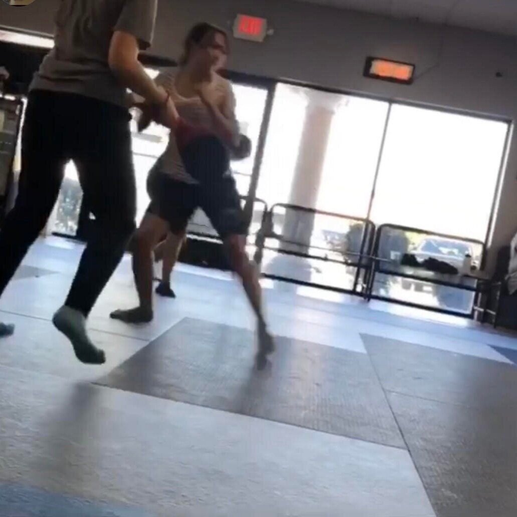 Fights are never fair. We teach situations such as defending against multiple attackers so that students know how to defend themselves in realistic situations.