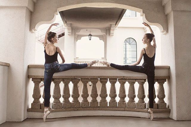 Peas in a pod . . . . . . . . . . . . . . #ballerina #ballet #pointe #dance #dancers #pointeshoes #balletlife #balletphotography #tutu #balletdancer #balletfeet #balletstyle #instaballet #workout #flexible #dancer #worldwideballet #photooftheday #thepointeshop @thepointeshop @russianpointebrand @discountdance #balletbeautifulgirls #dancelovedance #balletaddiction #balletdesire @ballerina.nation #ballerinaplans #instadance #move #bend #love #beautiful #colorful