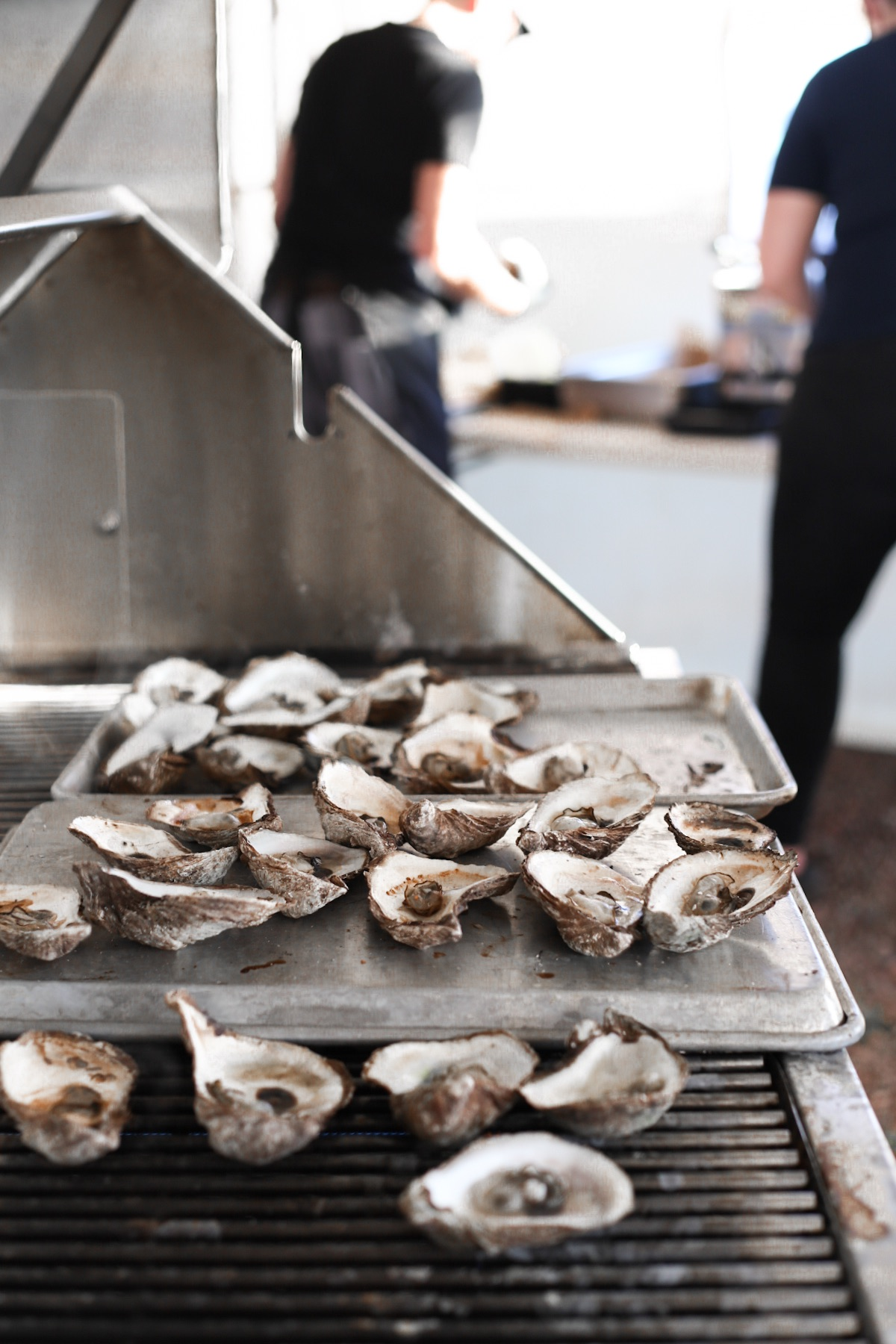Oysters on the BBQ @ Fall Flavours, Oysters On the Pier