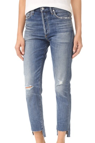 CITIZEN'S OF HUMANITY LIYA HIGH RISE CLASSIC FIT JEANS