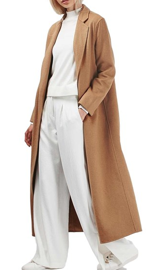 Topshop BUTTED SEAM DUSTER COAT