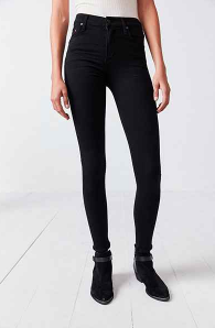 CITIZENS OF HUMANITY ROCKET BLACK