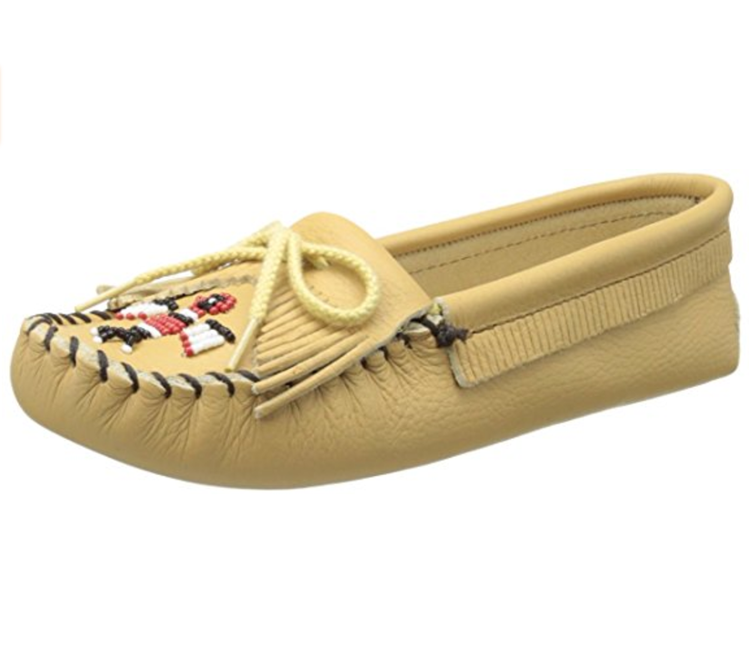 Moccasin beaded