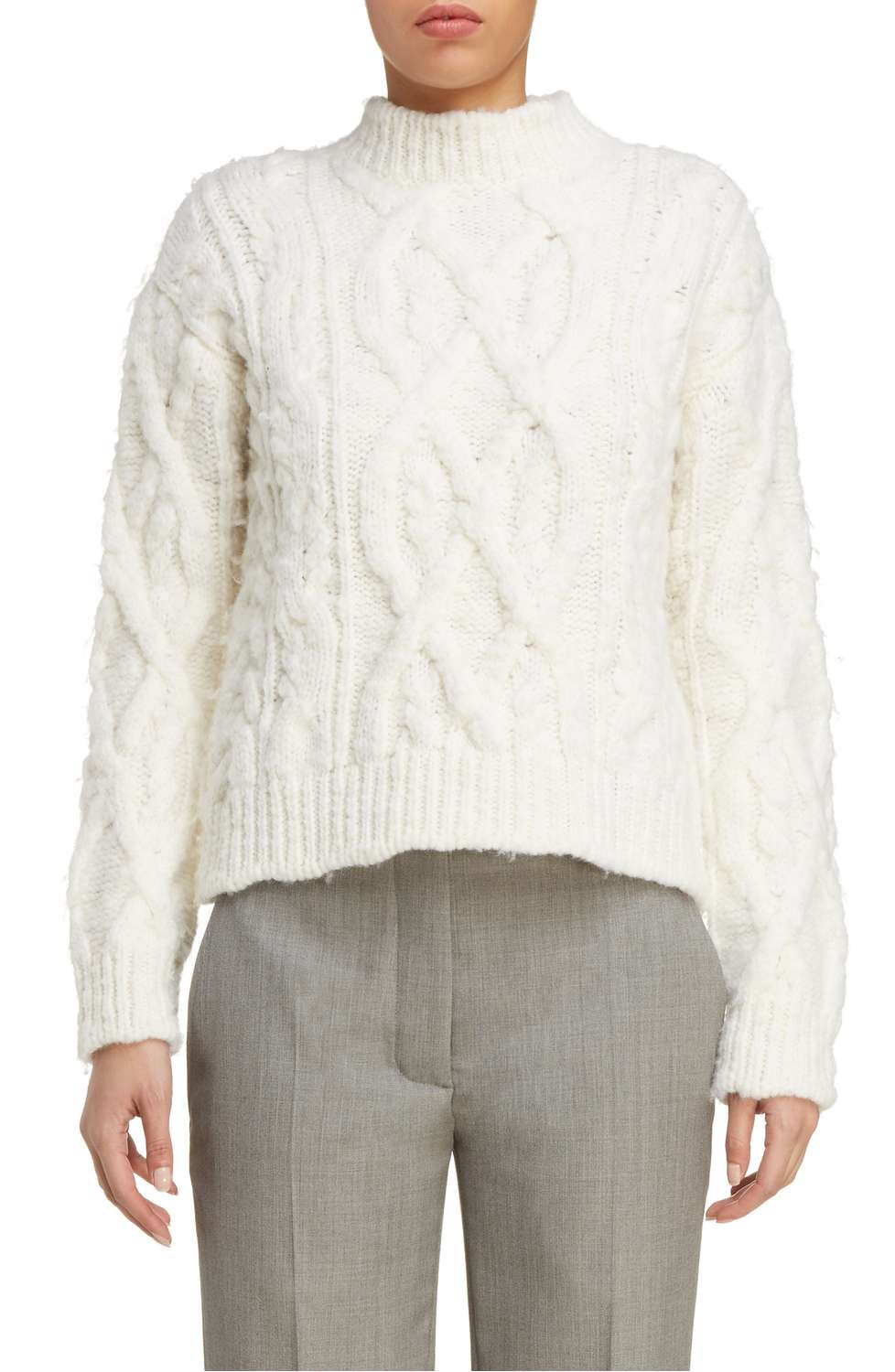 Acne edyta cable knit sweater