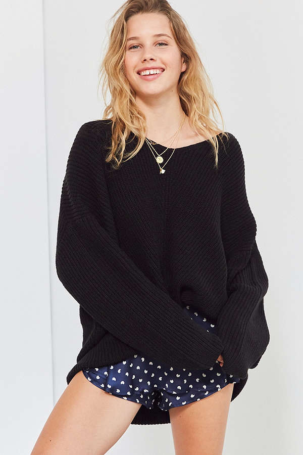 bdg harper high low sweater