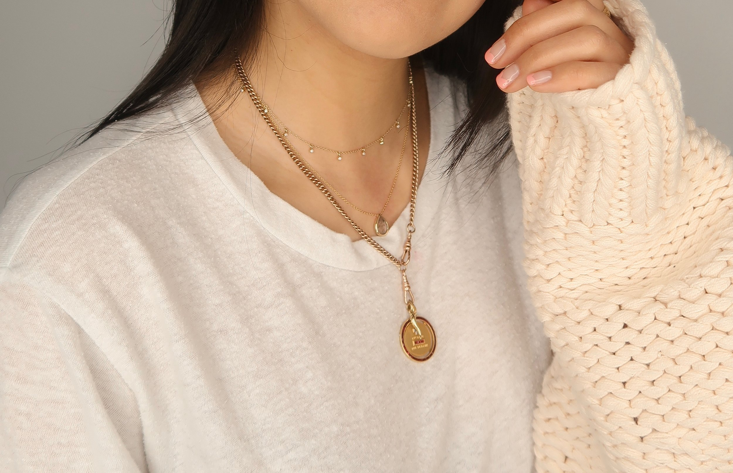 zoe chicco necklace - the perfect layering piece